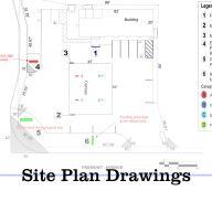 site plan drawings